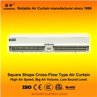 Square shape cross-flow air curtain (air door) FM-0.9-09