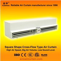 Square shape cross-flow air curtain (air door) FM-1.5-12