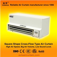 Square shape cross-flow air curtain (air door) FM-1.5-06