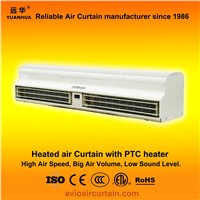 Heated air curtain (air door) FM-1.5-09B-3D