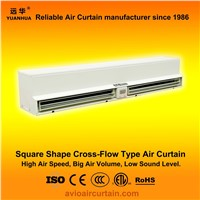 Square shape cross-flow air curtain (air door) FM-1.25-12