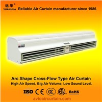 Arc shape cross-flow air curtain (air door) FM-1.5-15B