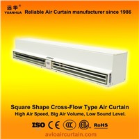 Square shape cross-flow air curtain (air door) FM-1.5-15