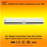 Arc shape cross-flow air curtain (air door) FM-1.25-15B