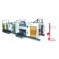 CE-automatic lamination machine Model YFMD