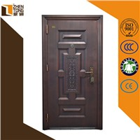 Custom interior/exterior steel sheet cheap exterior steel door