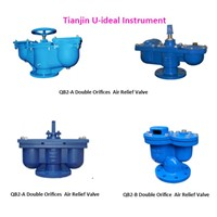 Dual Orifice Air Relief Valve; Double Orifice Air Vent Valves
