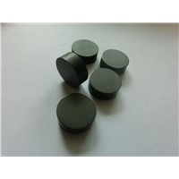 Solid CBN turning inserts for hard metal machining