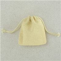High Quality Cotton Muslin Bags Wedding Gift Bags 3x4 inch
