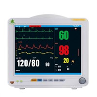 Multi-Parameter Patient Monitor ICU Patient Monitor, SpO2, NIBP, ECG, Pulse Rate Parameters