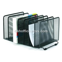 Office 2 tiers metal mesh desk paper tray