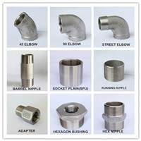 china supplier Stainless Steel pipe fitting, Close Nipple