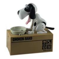 money stealing bank music dog money box
