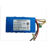 14.8V 19.6Ah 18650 lithium ion battery pack with SMBus,balance charging,LCD display