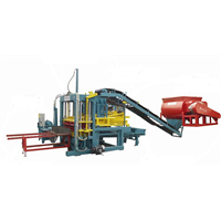 Russia hot sale concrete brick making machinery