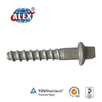 Ss35 Screw Spikes for Concrete Sleeper