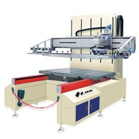 china big glass screen printer machine manufacture