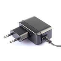 EU plug 12v 1a switching power adapter with CE GS certifications