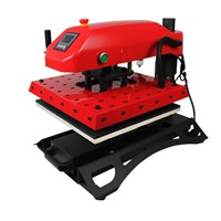 swing led heat press machine for tshirts