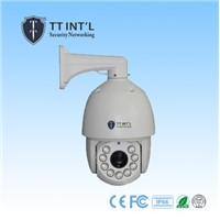 waterproof dome 1.3mp 18x optical zoom ptz camera