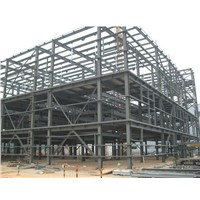 Galvanized light steel structure welding shed warehouse workshop