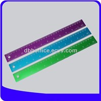 Wholesale custom aluminium metal scale ruler, ruler 30 cm size for office use