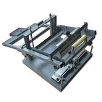simple manual cup silk screen printing machine low price