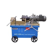 AGS-40A Rebar Thread Rolling Machine
