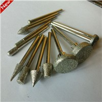 HOT!!!   electroplated diamond mounted point