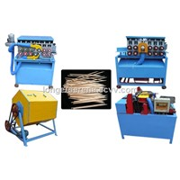 Toothpick Production line/Wooden Toothpick Processing Machine