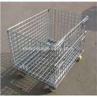 Collapsible Bulk Wire Mesh Crates
