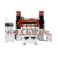 5 axis multi-spindle rotary CNC Router machine