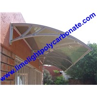 polycarbonate DIY awning door canopy window awning pc awning DIY canopy pc canopy roof door shelter