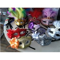 Mens Carving Mask Halloween Masquerade Masks Venetian Dance Party Mask Men Mask