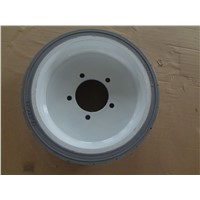 Skyjack Aerial Lift solid rubber wheel 12 3/8 x4,12x3x10