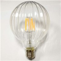 new globe lamp G95 4W led filament bulb lighting decoration lghting