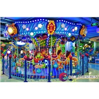 2017 New Design Hot Sale Carousel for Indoor Theme Park