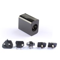 5V 1A interchangeable plug usb power adapter,all in one adapter