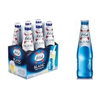 French Kronenbourg 1664 Blanc both canned/bottle