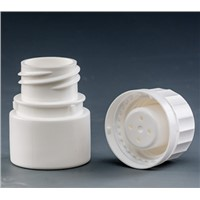 25ml 50ml White PP material Capsule container