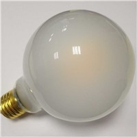 big globe frosted glass lamp G95 8W led filament bulb