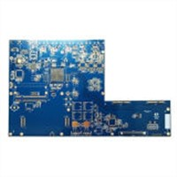 Blue Solder PCB Board Gold Planted PCB UL RoHS Certification