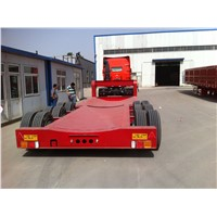 Heavy equipment transport multi-axle hydraulic truck trailer for sale  Transactions