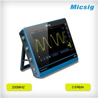 200MHz TO202I 2 channels digital storage tablet oscilloscope