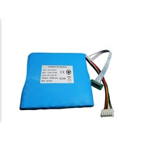14.8V 10.4Ah 18650 lithium ion battery pack with SMBus,balance charging,LCD display
