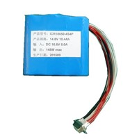 14.8V 10.4Ah 18650 lithium ion battery pack with SMBus,balance charging