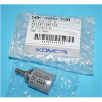 Komori potentiometer,5GK-9900-030,5GK-N300-010,switch,5BA-6100-250, shock absorber,444-7052-014,