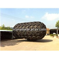 Floating pneumatic rubber fenders