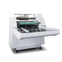 Lamination machine Model YFME with roll collector