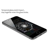 0.2MM 2.5D Round Edge Color Tempered glass screen protector for iphone6